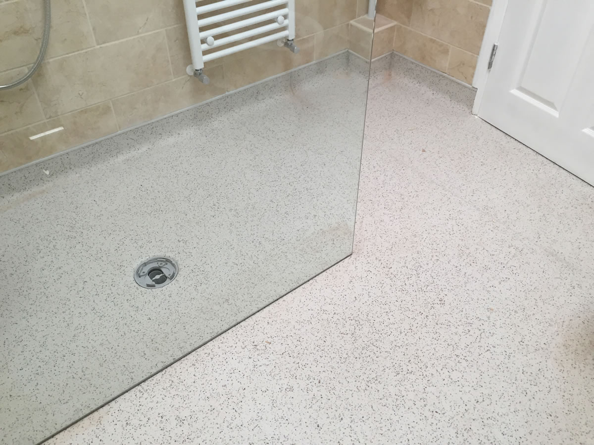 Wet room flooring derby shower room floors derby wet room flooring installations derby doublecrazyfo Image collections